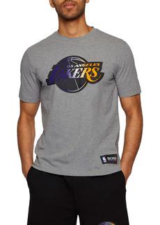 Hugo Boss BOSS x NBA Tbasket Los Angeles Lakers Embossed Logo Graphic Tee