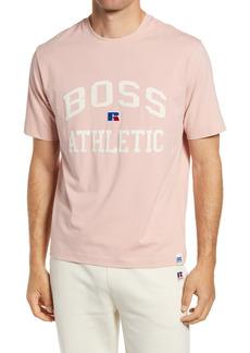Hugo Boss BOSS x Russell Athletic Tra Varsity Logo T-Shirt