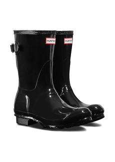 Hunter Original Short Adjustable Back Gloss Waterproof Rain Boot (Women)