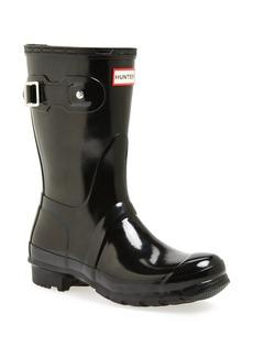 Hunter Original Short Gloss Waterproof Rain Boot (Women)