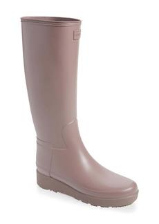 Hunter Refined Creeper Tall Rain Boot (Women)
