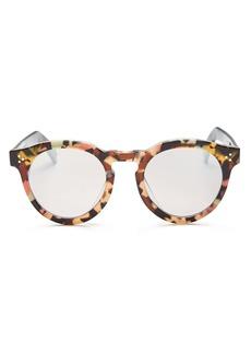 Illesteva Unisex Leonard 11 Oversized Round Sunglasses, 50mm