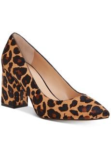 INC International Concepts Inc Bahira Block-Heel Pumps, Created for Macy's Women's Shoes