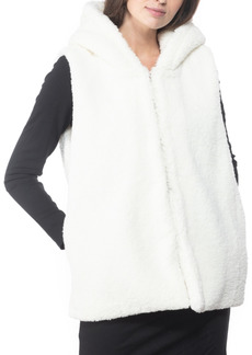 INC International Concepts Inc Faux-Fur Hooded Vest, Created for Macy's
