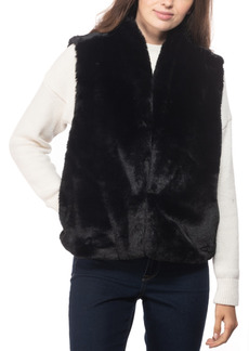 INC International Concepts Inc Faux-Fur Vest, Created for Macy's