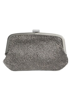 INC International Concepts Inc Patsy Diamond Mesh Frame Clutch, Created for Macy's