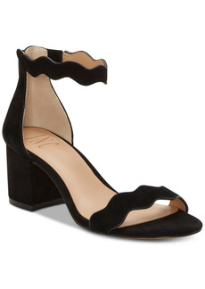 INC International Concepts Inc Women's Hadwin Scallop Two-Piece Sandals, Created for Macy's Women's Shoes
