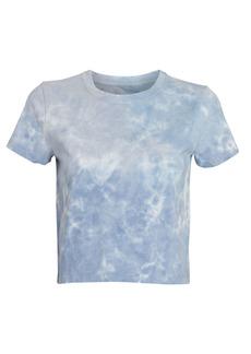 Intermix Annie Cropped Tie-Dye T-Shirt