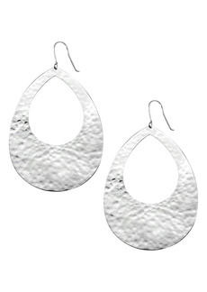 Ippolita Classico Crinkle Hammered Drop Earrings