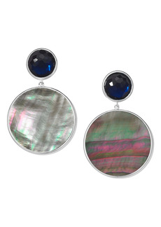 Ippolita Wonderland Stone & Round Shell Drop Earrings