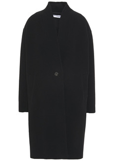 Iro Woman Malara Wool-blend Felt Coat Black