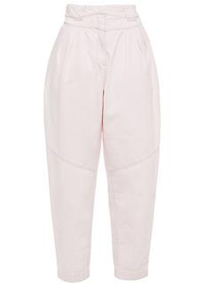 Iro Woman Marmon High-rise Tapered Jeans Blush