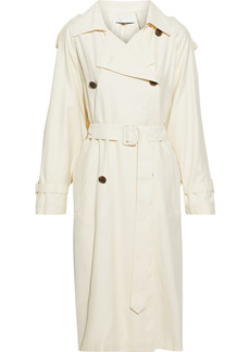 Iro Woman Phenom Gabardine Trench Coat Ivory