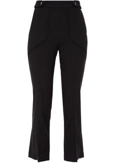 Iro Woman Roskie Button-detailed Piqué Kick-flare Pants Black