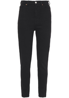 Iro Woman Tilda High-rise Skinny Jeans Black