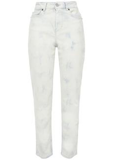 Iro Woman Vendom Bleached High-rise Slim-leg Jeans Cream