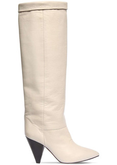 Isabel Marant 90mm Loens Leather Over-the-knee Boots