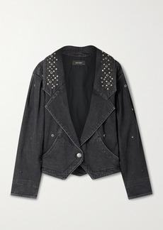 Isabel Marant Depaline Studded Embellished Denim Jacket