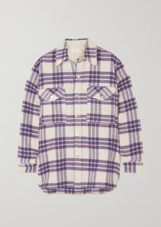 Isabel Marant Faxonli Checked Wool-blend Jacket