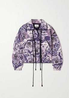 Isabel Marant Haines Floral-print Quilted Cotton Jacket