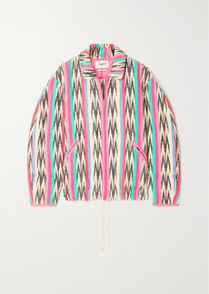 Isabel Marant Iaustey Printed Cotton-canvas Jacket