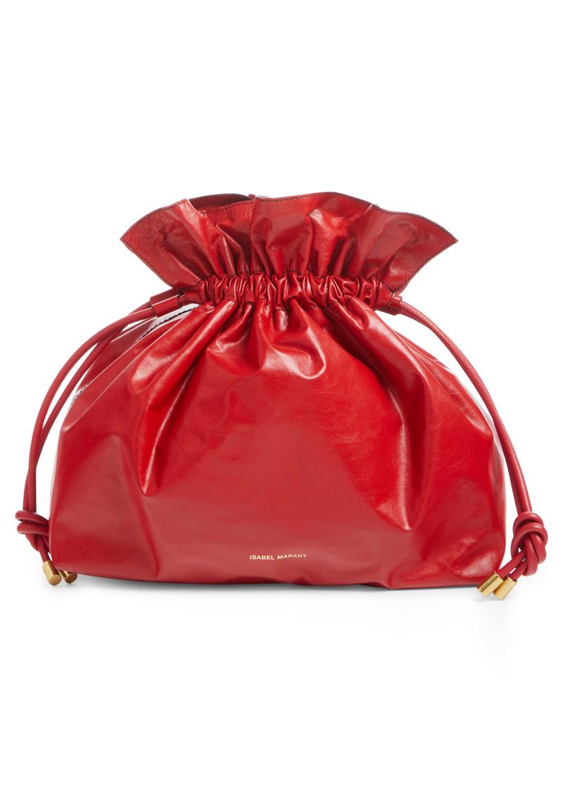 Isabel Marant Leather Bucket Bag