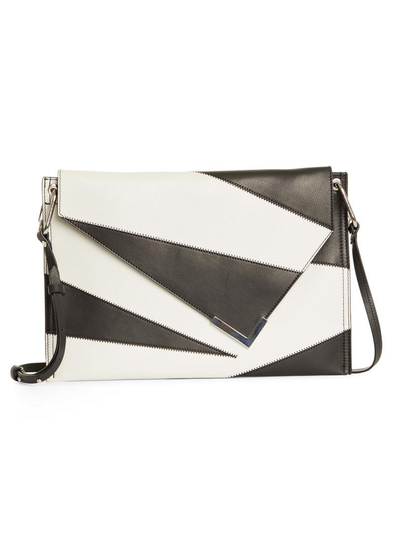 Isabel Marant Tryne Patchwork Leather Shoulder Bag