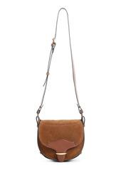 Isabel Marant Botsy Suede & Leather Shoulder Bag