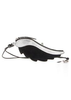 Isabel Marant Kanat Wing Leather Case with Lanyard