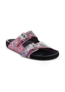 Isabel Marant Lennyo Glitter Slide Sandal (Women)