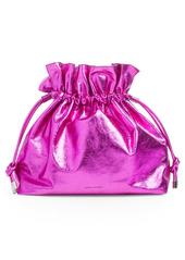Isabel Marant Metallic Leather Bucket Bag
