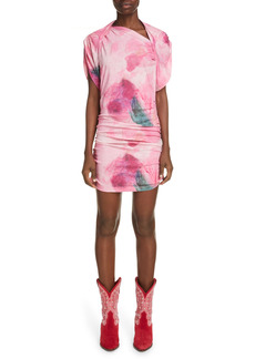 Isabel Marant Sibara Floral Jersey Dress
