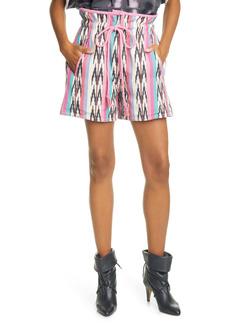 Isabel Marant Étoile Inima Cotton Drawstring Shorts