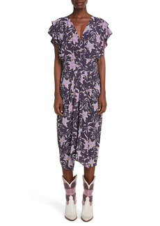Isabel Marant Étoile Omeya Floral Dress