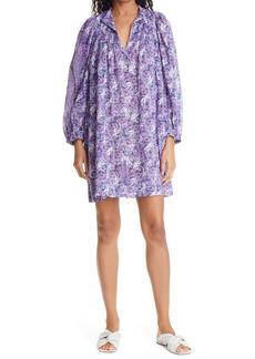 Isabel Marant Étoile Virginie Floral Print Cotton Shift Dress