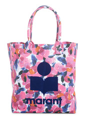 Isabel Marant Yenky Floral Logo Canvas Tote