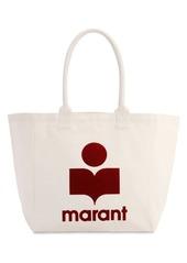 Isabel Marant Yenki Logo Print Cotton Tote