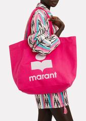 Isabel Marant Yenky Logo Canvas Tote Bag
