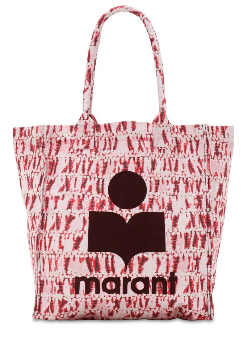 Isabel Marant Yenky Tie Dye Cotton Tote Bag