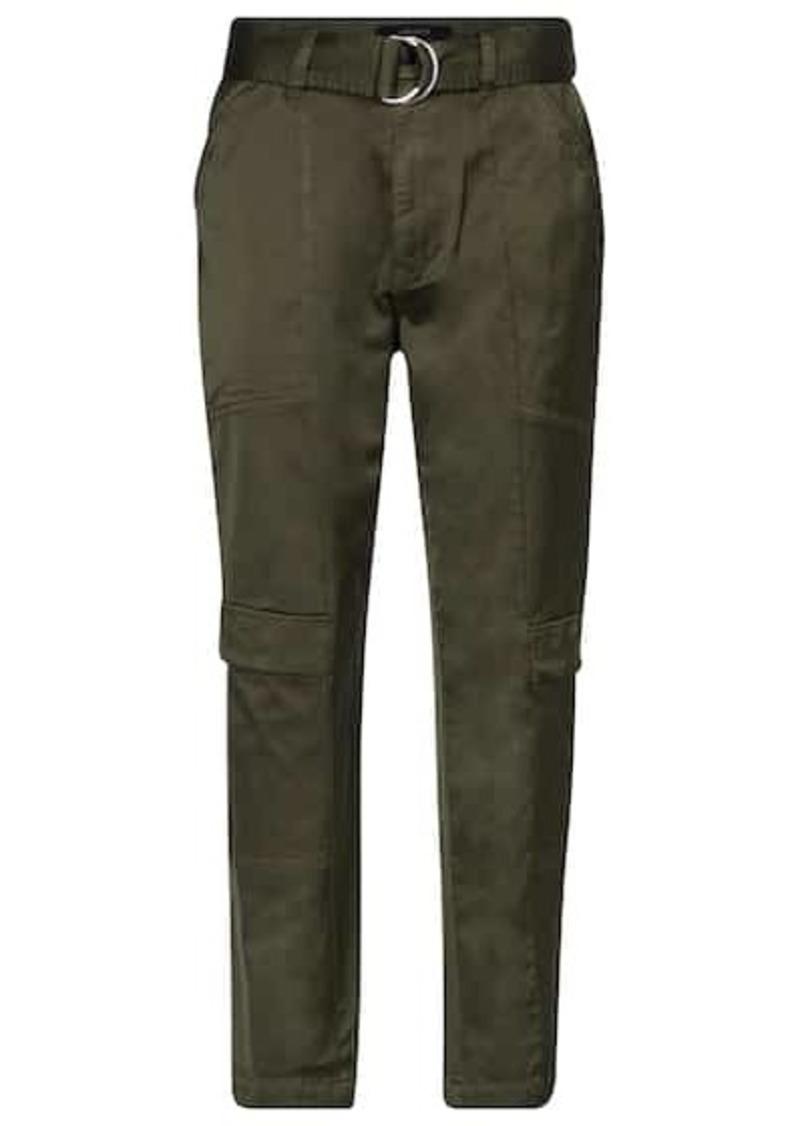 J Brand Athena stretch cotton-blend pants