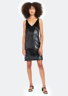 J Brand Brielle Velvet Mini Slip Dress - S - Also in: XS, M, L