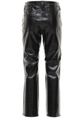 J Brand Franky High Waist Crop Leather Pants