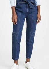 J Brand Athena Utility Waist Tie Pants