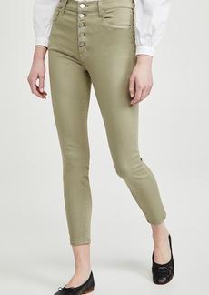 J Brand Lillie High Rise Crop Skinny Jeans