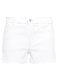 J Brand Woman Denim Shorts White