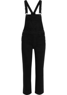 J Brand Woman Jules Denim Overalls Black