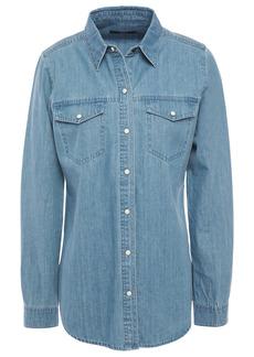 J Brand Woman Perfect Denim Shirt Mid Denim