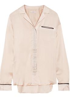 J Brand Woman Sateen Shirt Blush
