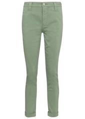 J Brand Paz mid-rise cotton-blend slim pants