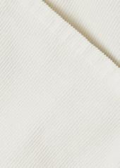 J Brand Runway Cotton-blend Corduroy Flared Pants